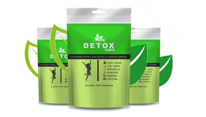 detox caps para que serve
