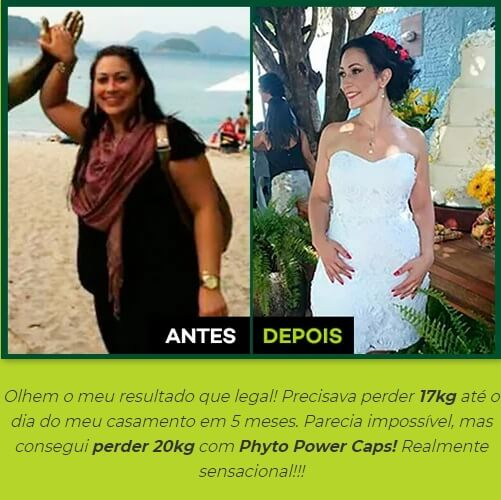 Depoimento Phyto Power Caps
