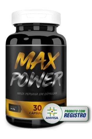 Max power anvisa